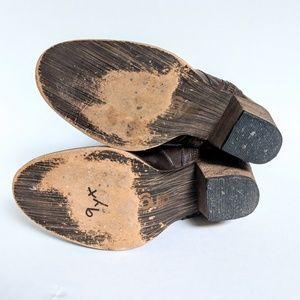 dingo Shoes - Dingo Brown Leather Cowboy Boots Size 7